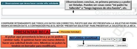 Dudas Becas Mec : Guía de presentación | Convocatoria de becas mec para estudios universitarios y no universitarios 2016/2017. | TIC-TAC_aal66 | Scoop.it