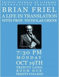 Brian Friel: A Life In Translation | The Irish Literary Times | Scoop.it