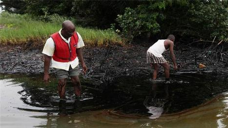 Drenched in oil: Nigerians demand Shell spill clean-up | Sustain Our Earth | Scoop.it
