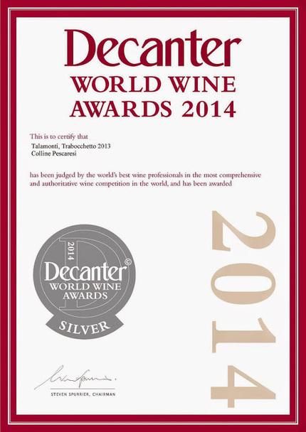 Pecorino d'Abruzzo Talamonti Trabocchetto2013white #wine strikes Silver at… | Italian Fine Wines | Scoop.it