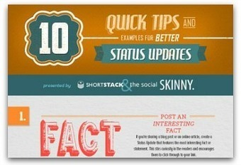 Infographic: 10 ways to write better Facebook posts | Harris Social Media | Scoop.it