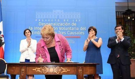 Chile avanza hacia su ley de aborto | Comunicando en igualdad | Scoop.it