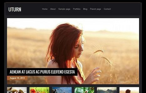 The Themes of Summer 2013: 18 Fresh Free WordPress Themes - noupe   CMS   Scoop.it