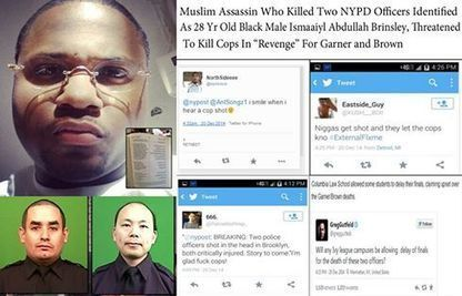 Jihadist,anti cop black Muslim executes two NYPD cops thanks to Obama,Sharpton,Holder and DeBlasio | Littlebytesnews Current Events | Scoop.it