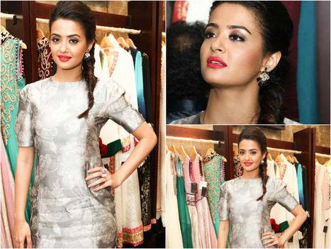 Surveen Chawla Rocks Metallic Look | beauty-lover | Scoop.it