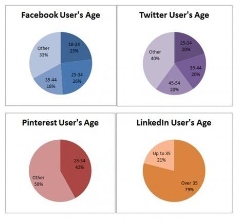 Facebook, Twitter, Pinterest and LinkedIn 2013 UK Statistics | The 21st Century | Scoop.it