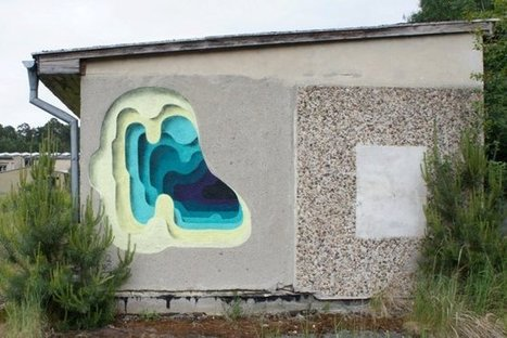 Street Art Uses Perspective To Create The Illusion Of Peeling Layers [Pics] | Why are we in this mess and how do we get out if it? | Scoop.it