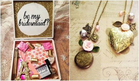 Amazing Ideas for Your Bridesmaid Gift | iWedPlanner | wedding planner in usa  app | Scoop.it