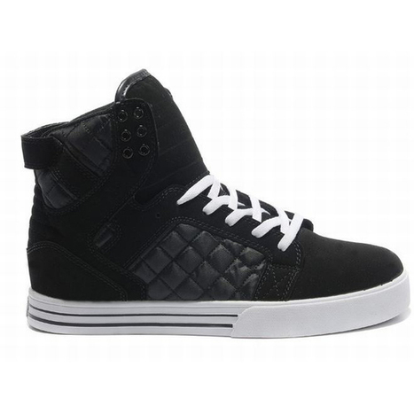 Supra Skytop High Tops Black Men's | new and share style | Scoop.it