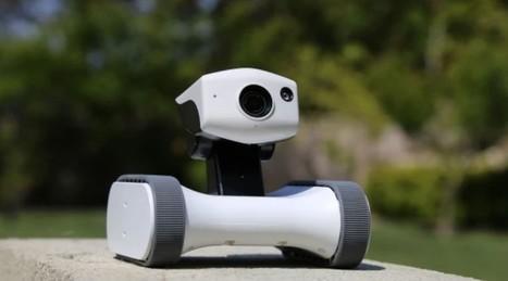 Riley, le robot connecté qui surveille votre maison   Smart Home & Smart Objects   Scoop.it