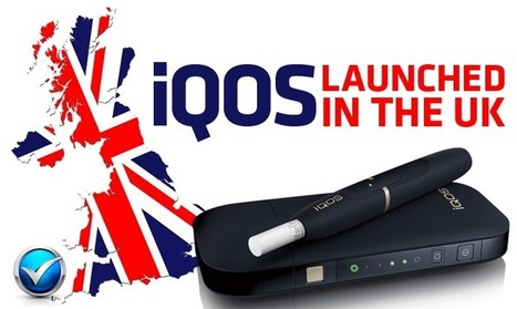 iQOS Launching In The UK Will Heat Not Burn Catch On?   E Cig - Electronic Cigarette News   Scoop.it