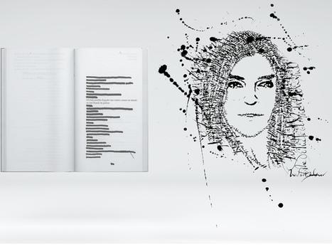 Les Portraits-signature du calligraphe Nicolas Ouchenir s'exposent chez Colette... | Carnet de tendance | Scoop.it
