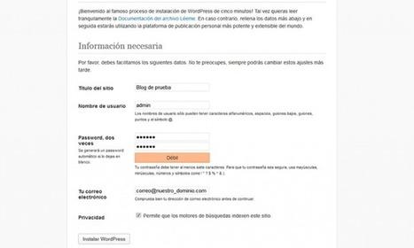 Instalar WordPress en local   Migrar nuestro blog de WordPress.com   Social Media   Scoop.it