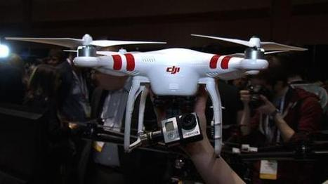 DJI Phantom 2 Flies into CES 2014 with its Video Friendly Drone - CNET   Drone News   Scoop.it