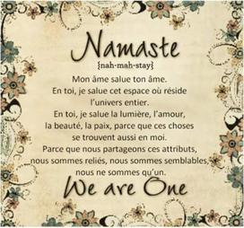 Bonjour... ou Namasté ? | L'art, l'humour et l'humain... | Scoop.it