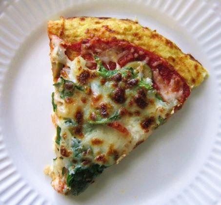 Recipe Box: Doughless Pizza - Lauren Conrad | Healthy Meals | Scoop.it