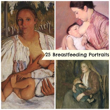 25 Breathtaking Odes to Breastfeeding Through the Centuries - Babble | Tete | Scoop.it