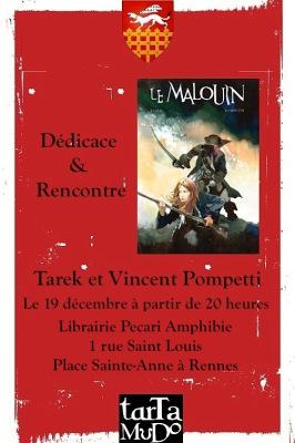 Dédicace à la librairie Pecari Amphibie deRennes | Le Malouin | Scoop.it