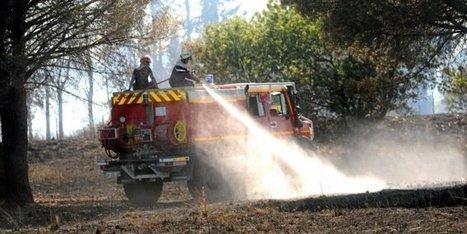 Sécheresse, chaleur vent : dans le Gard, les pompiers face au risque incendie   Sapeurs-pompiers de France   Scoop.it