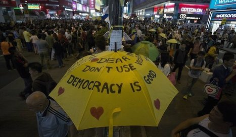 Hong Kong protesters cancel referendum | News From Stirring Trouble Internationally | Scoop.it