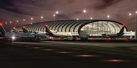 Dubai Airport's Mesmerizing Panoramic 4K Time-Lapse | Sizzling Views | Scoop.it