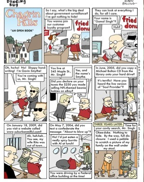 TOM THE DANCING BUG: Chagrin Falls - Gavin Has Nothing to Hide From theNSA  Fun Boing Boing comics | Brainfriendly, motivating stuff for ESL EFL learners | Scoop.it