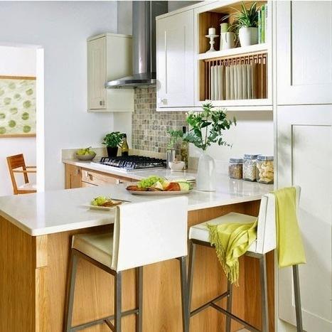 Thiết Kế Bếp Gia Đình: Thiết kế nhà bếp không gian hẹp - 10 ý tưởng tốt nhất | Xu hướng cho các mẫu thiết kế bếp đẹp hiện đại | Scoop.it