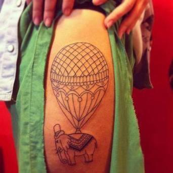 Balloon | Tattoo | Scoop.it