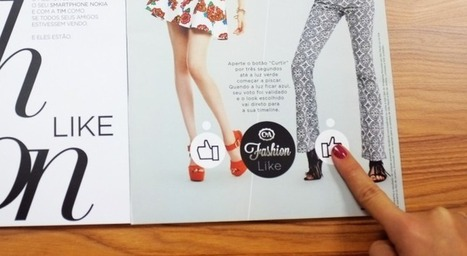 Print magazine features working Facebook 'Like' buttons | Strategies for Fast Changing Realities | Scoop.it