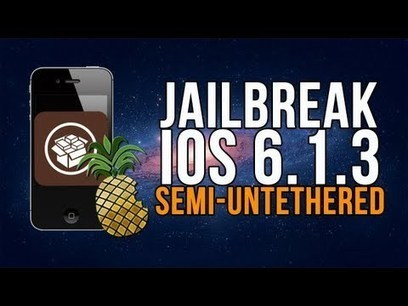 FÁCIL Jailbreak SEMI-UNTETHERED iOS 6.1.3 / 6.1.5 iPhone 3gs, 4, iPod Touch 4g | Español | IPhone Unlockers | Scoop.it