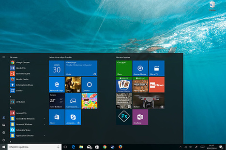 Microsoft rilascia Windows 10 IP build 14955 per PC e Mobile: novità e problemi noti | sistemi operativi | Scoop.it