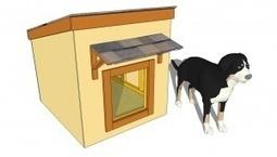 Dog House Plans | Home Improvement | Scoop.it