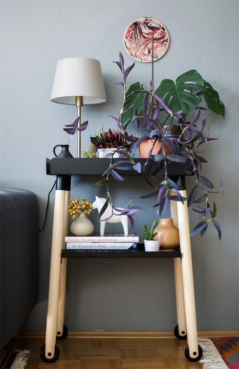 Urban Jungle Bloggers: Plant Shelfie II · Happy Interior Blog | Interior Design & Decoration | Scoop.it