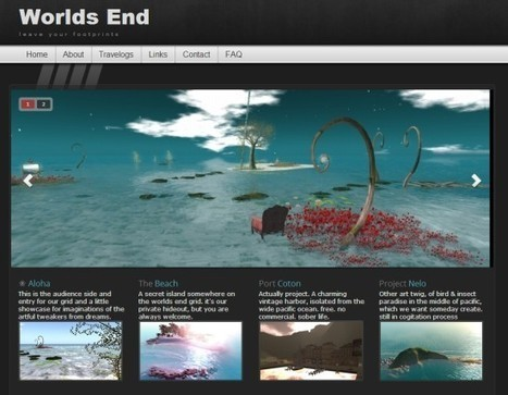 8 best grid websites - Hypergrid Business | 3D Virtual Worlds: Educational Technology | Scoop.it