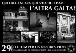[Barcelona] Panfleto repartido por las calles, propagando la huelga generalsalvaje!   Txemabcn   Scoop.it