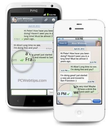WhatsApp vs. Viber vs. WeChat - Cual es la Mejor?   PCWebtips.com   Android - Aplicaciones y Tips   Scoop.it