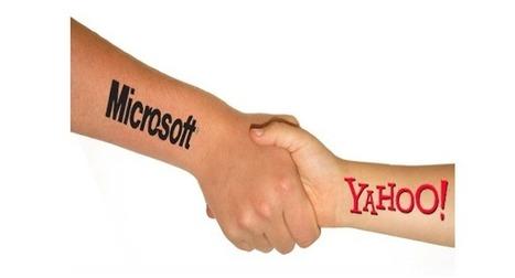 Yahoo et Microsoft renouvellent leur partenariat dans la recherche internet - #Arobasenet.com   Référencement internet   Scoop.it