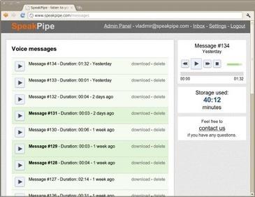 SpeakPipe - listen to your customers | Recursos, aplicaciones TIC, y más | Scoop.it