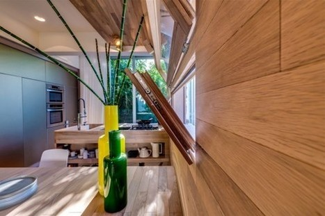 Modern Lively Modern Apartment Interior Design In Wood | Kas Carpet of NYC | Scoop.it
