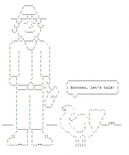 Happy Thanksgiving in ASCII Text Art | ASCII Art | Scoop.it