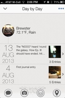 Narrato for iPhone is a full-featured journal app - TUAW | Narrato Journal Press Coverage | Scoop.it