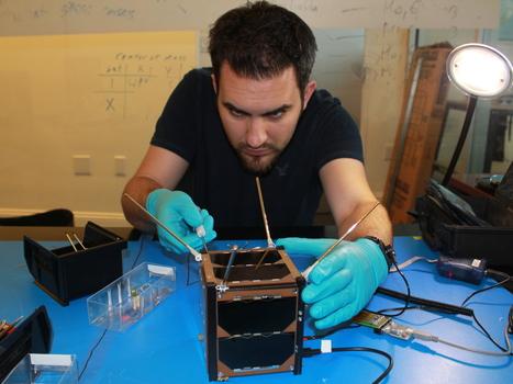 Tiny Tech Puts Satellites In Hands Of Homebrew Designers | 3D Printing  Robotics  Design  Composites and Manufacturing in CTE education | Scoop.it