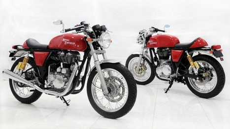 Here's the first ever studio shot of the India bound 2013 Royal Enfield Cafe ... - Indian Cars Bikes | Cafe-Racers | Scoop.it