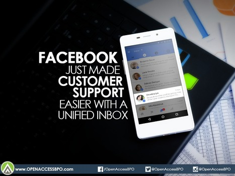 Facebook just made customer support easier with a unified inbox   Open Access BPO   Outsourcing and Customer Service   Scoop.it