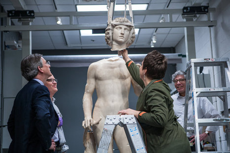 Recreating Adam, From Hundreds of Fragments, After the Fall | Studio Art and Art History | Scoop.it