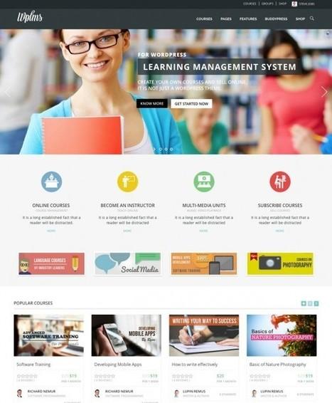 WordPress LMS Comparison: 7 Amazing Solutions - Capterra Blog | e-learning | Scoop.it