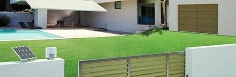 Nice Robuskit 400 solemyo – motorisation portail coulissant solaire - Habitat Automatisme | Motorisation portail | Scoop.it