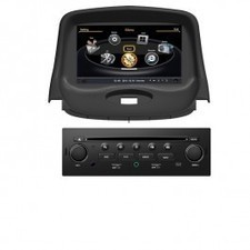 autoradio dvd gps peugeot 207 2008 2009 avec. Black Bedroom Furniture Sets. Home Design Ideas