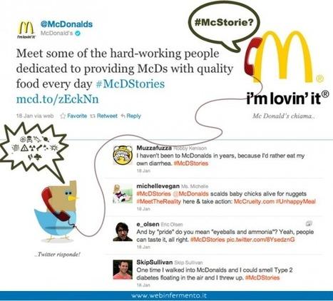 Il caso McDonald's: prevenire e' meglio che curare   Twitter addicted   Scoop.it