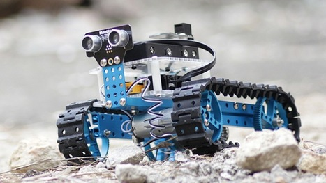 Learn Code by Building a Tank with the Makeblock Arduino Starter Robot Kit – 46% Off   Raspberry Pi   Scoop.it